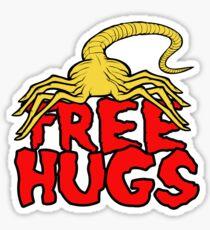 Free Face Hugs Sticker