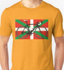 Bike Flag Basque (Big - Highlight) Unisex T-Shirt