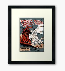 Ghost Rider Comic Cover Framed Print