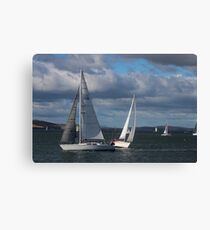 sailing - Hobart Canvas Print