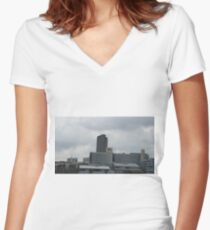 Sheffield Hallam University 2016 Women's Fitted V-Neck T-Shirt