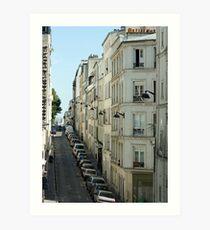 Paris Streetscape Art Print
