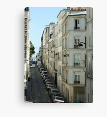 Paris Streetscape Canvas Print