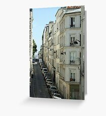 Paris Streetscape Greeting Card