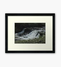 SHINNY FALLS  Framed Print
