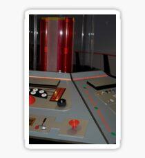 Classic TARDIS Console Sticker
