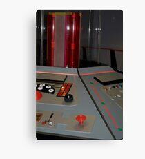 Classic TARDIS Console Canvas Print