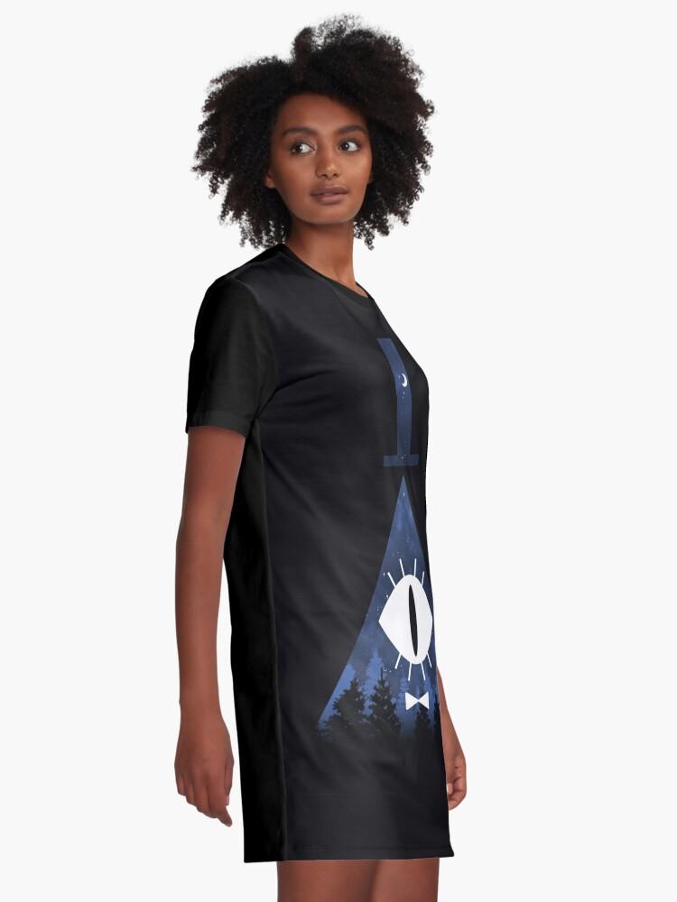 Alternative Ansicht von Mr. Cipher T-Shirt Kleid