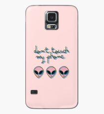 Berühren Sie nicht mein Telefon // Alien 3D Vaporwave Indie Hülle & Skin für Samsung Galaxy