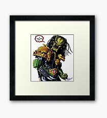 Predator's Law  Framed Print