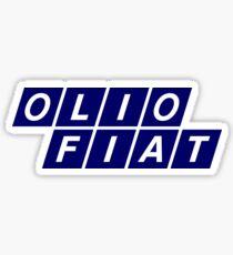 Olio Fiat - Blue Sticker