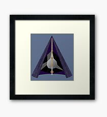 Materialized Deathly Hallows  Framed Print