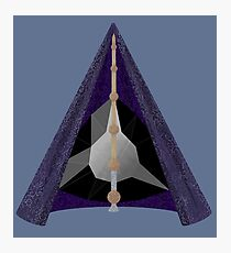 Materialized Deathly Hallows  Photographic Print