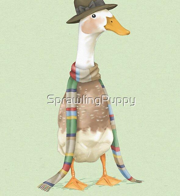 Ducktor Who by SprawlingPuppy