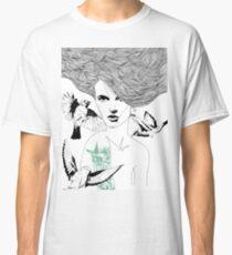 Birdie - Fineliner Illustration Classic T-Shirt
