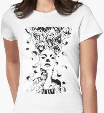 Florist - Fineliner Illustration Women's Fitted T-Shirt