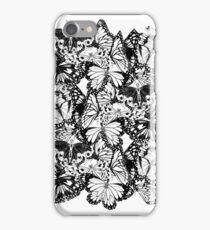 Flutter - Fineliner Illustration iPhone Case/Skin