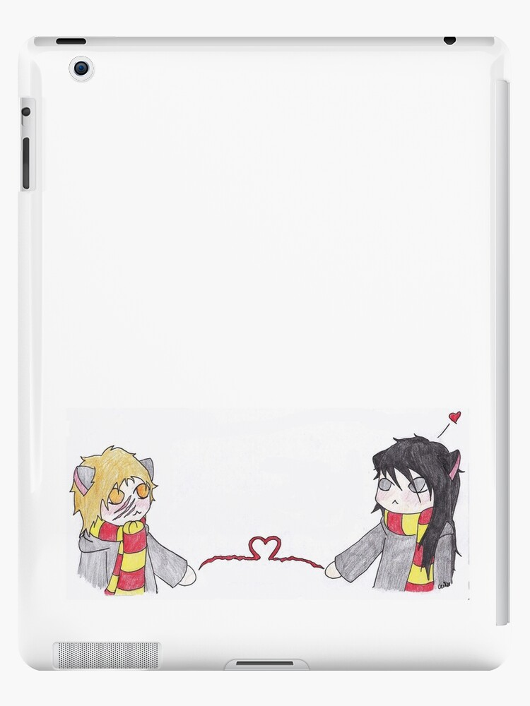 Chibi Wolfstar Long Distance Love Ipad Cases Skins By