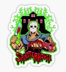 House of Splatter (Green Edition) Sticker