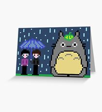 8 bit Dan, Phil and Tororo <3 Greeting Card