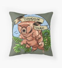 Tardigrade Tough Crest Throw Pillow