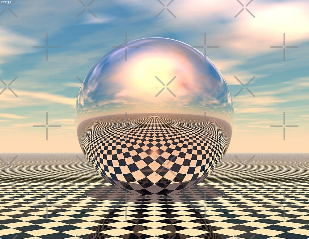 Checker Ball by Phil Perkins