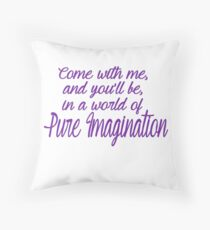 Pure Imagination  Throw Pillow