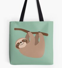 Cute Sloth on a Branch Tote Bag