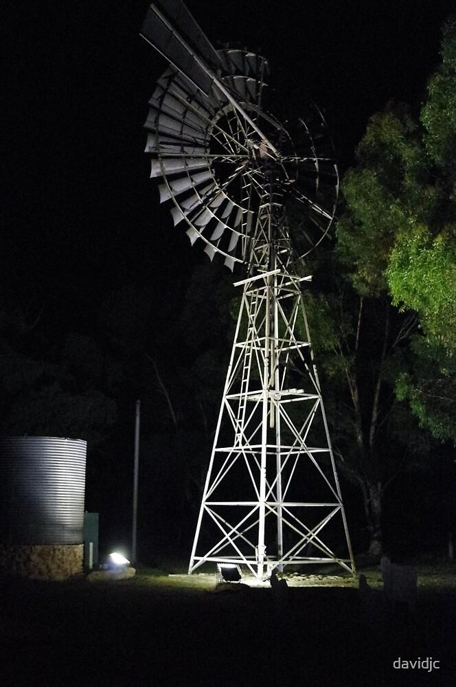 Historic Windmill by davidjc