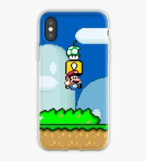 Mario Bros. 1Up Apple iPhone-Hülle & Cover