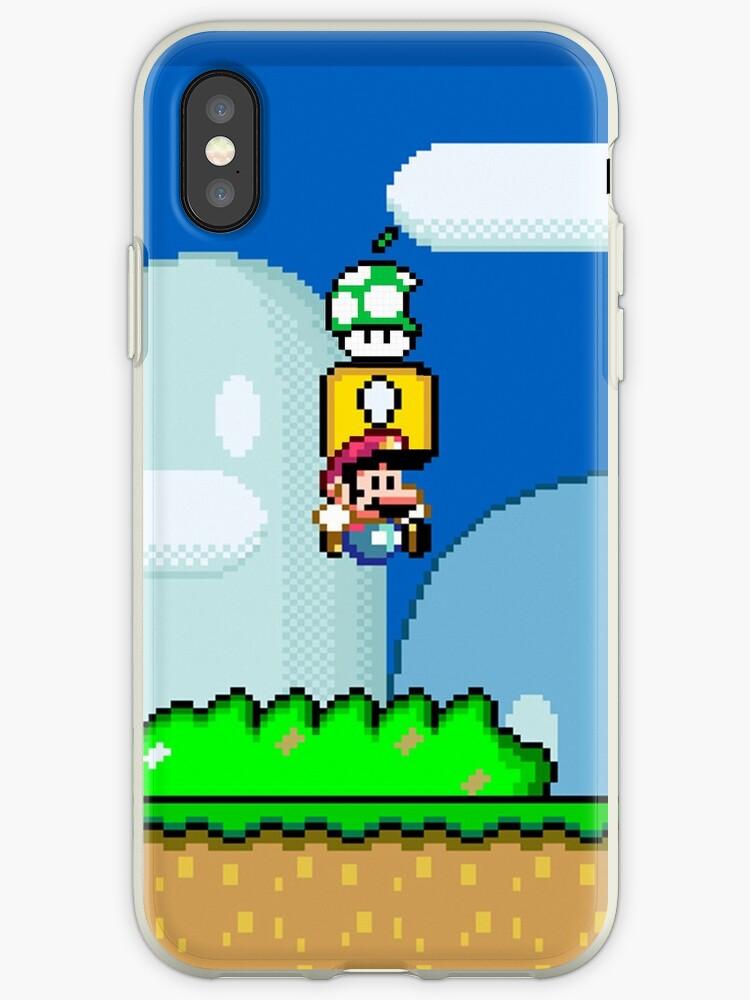 Mario Bros. 1Up Apple by Jonlynch