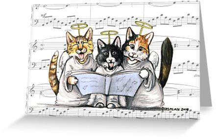 carols by kittens by Danelle Malan