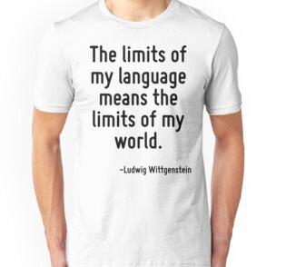 limits my language limits my world wittgenstein