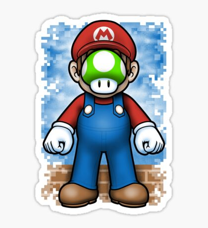 Plumber of Man Sticker
