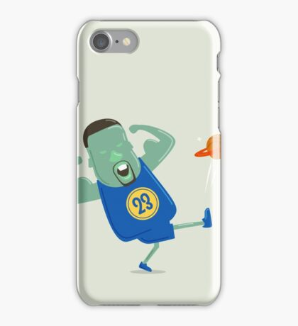 Draymond Green Kickin it iPhone Case/Skin
