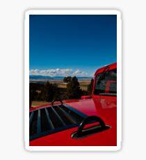 Mountaintop Hummers Sticker