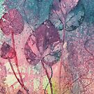 Violet Leaves by Val Spayne
