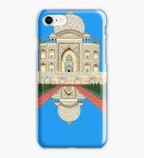 A Still Day in Agra (blue) iPhone Case/Skin