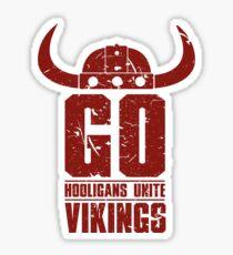 Go Vikings Sticker