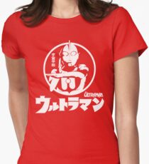 ULTRAMAN JAPAN STYLE Women's Fitted T-Shirt