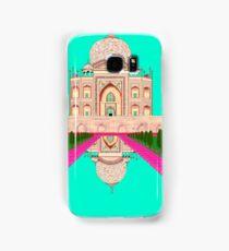 A Still Day in Agra (Aqua) Samsung Galaxy Case/Skin
