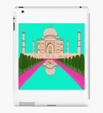 A Still Day in Agra (Aqua) iPad Case/Skin
