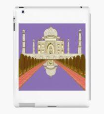 A Still Day in Agra (purple) iPad Case/Skin