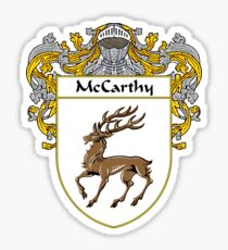 McCarthy Coat of Arms/Family Crest Sticker