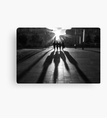 Shadows of the Beatles Canvas Print