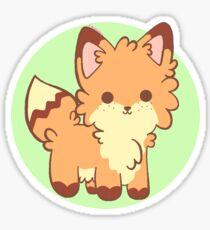 Adorable fox Sticker