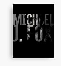 Michael J Fox Canvas Print