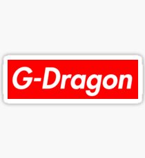 supreme big bang gdragon Sticker