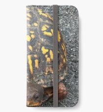 Eastern Box Turtle - Live If you like, please purchase, try a cell phone cover thanks iPhone Wallet