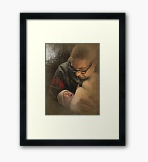 Consoling Framed Print